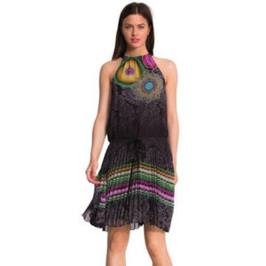 NWT desigual sirena festival dress size US 4 (38)